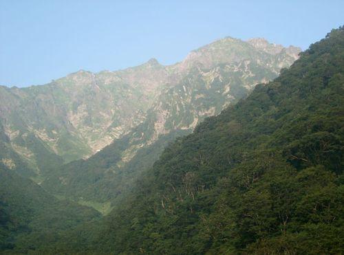 マチガ沢出合から谷川岳