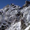 凍てる岩壁