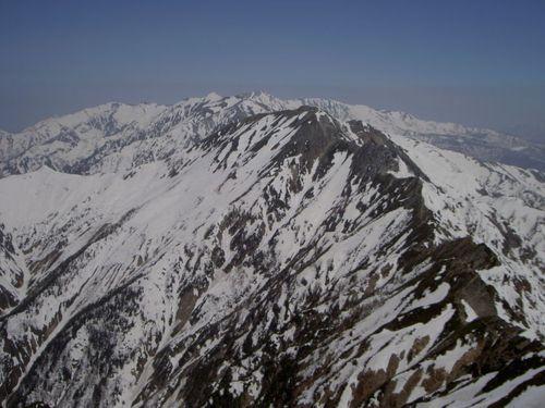 五竜岳、唐松岳、白馬三山
