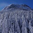 樹氷の森と阿弥陀岳