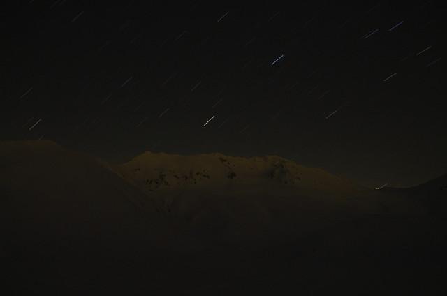 星降る立山