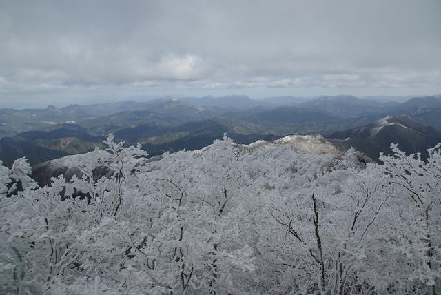 高見山の樹氷