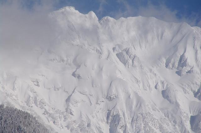 冬・奥穂高岳
