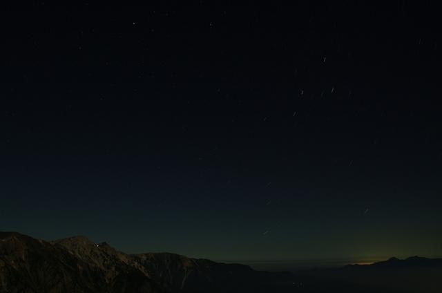 星降る白馬岳
