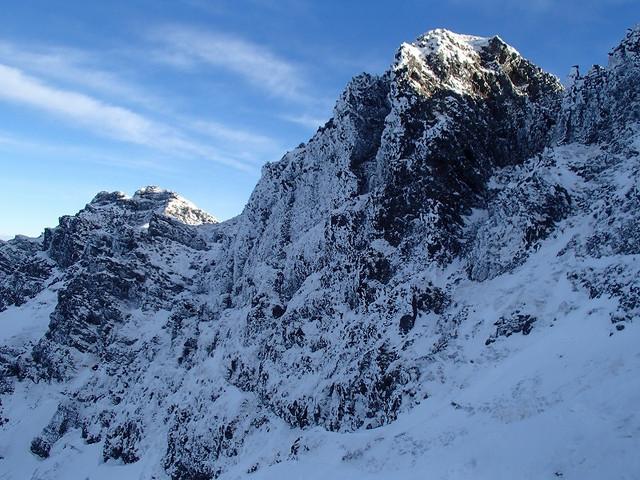 石尊峰への道