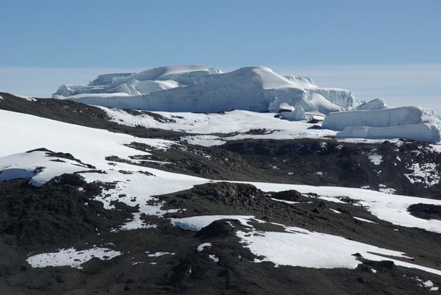 アフリカの氷河・キリマンジャロ山頂